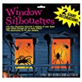 Amscan International Window Silhouette Spider