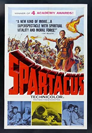 POSTER GLADIATOR 1961 at Amazon's Entertainment Collectibles Store