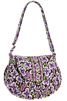 Vera Bradley Saddle Up in Plum Petals