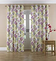 Eden Floral Eyelet Curtains