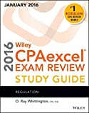 img - for Wiley CPAexcel Exam Review 2016 Study Guide January: Regulation (Wiley Cpa Exam Review) book / textbook / text book