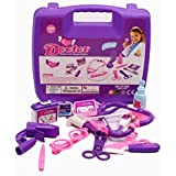 Dinhand Puzzle Simulation Doctor Role Play Set Kids Pretend & Play Doctor Set Doctor Nurse Medical Kit For Kids...