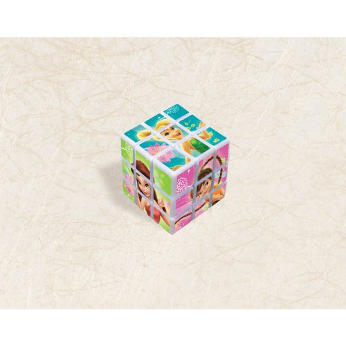 Tinker Bell and the Disney Fairies Mini Puzzle Cubes / Favors (4ct) - 1