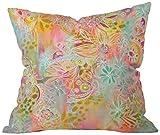 DENY Designs Stephanie Corfee Everything Nice Throw Pillow, 16 x 16