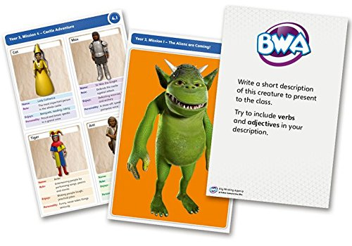 Big Writing Adventures: Year 3/Primary 4: Group Challenge Cards