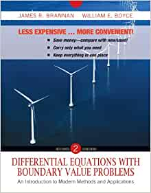 Differential equations brannan 2nd edition