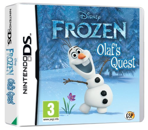 Disney Frozen: Olaf's Quest (Nintendo DS) by Disney Frozen (Frozen Olafs Quest Nintendo Ds compare prices)