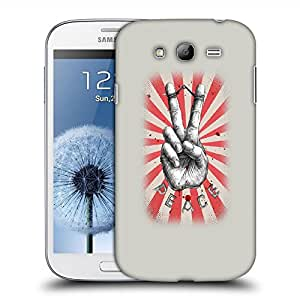 Snoogg Peace Designer Protective Back Case Cover For SAMSUNG GALAXY GRAND DUOS I9082