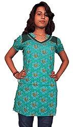 Miraaya Women's Tunic (M2571A_88363_Green_Small)