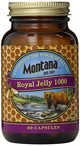 Montana Big Sky Royal Jelly Capsules, 60 Count