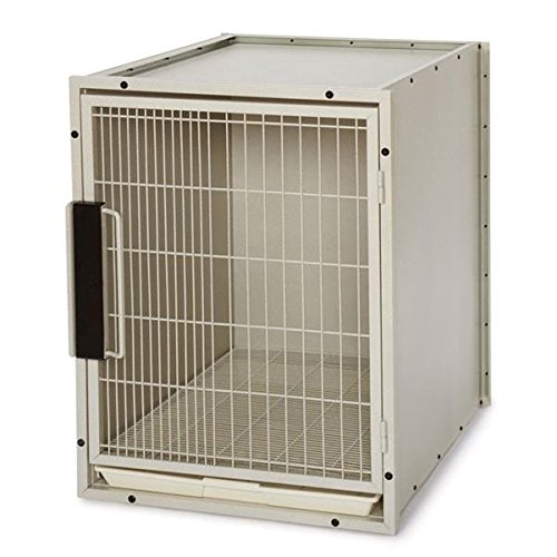 Proselect Small Modular Kennel Cage, Graphite front-43098