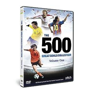 500 Great Goals - Volume 1 [DVD]