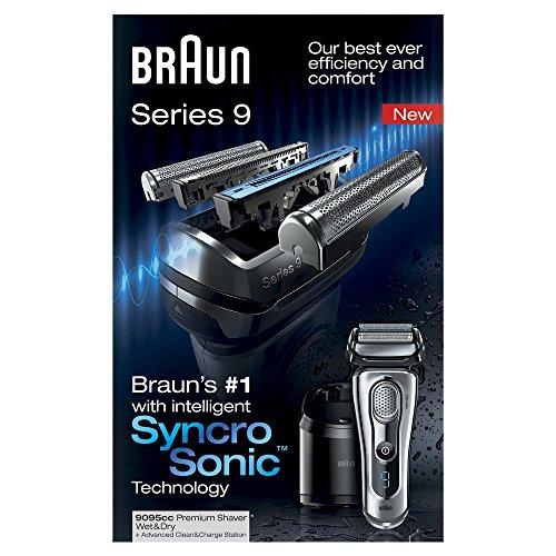 braun series 9 9095cc nass trocken rasierer mit clean renew. Black Bedroom Furniture Sets. Home Design Ideas