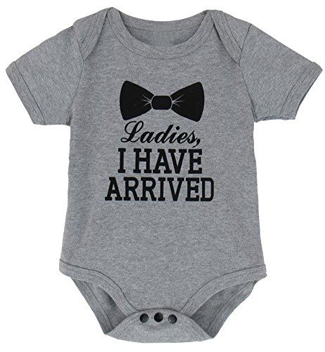 A&J Design Baby Boys' Funny Gentleman Onesie (12-18 Months) (Aj 16 compare prices)
