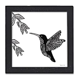 Hummingbird Pen & Ink