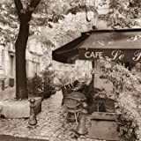 Cafe Aix-en-Provence by Blaustein, Alan - Fine Art Print on PAPER : 30 x 30 Inches