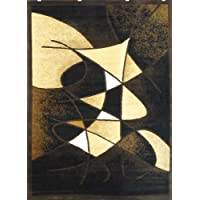Modern Area Rug Black Design # G 24