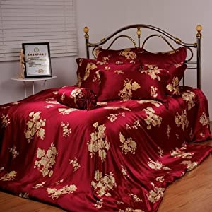 Satin Leopard Sheets