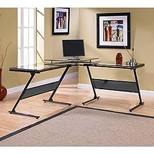 Z-Line Delano L Computer Desk