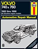 Matthew Minter Volvo 740 and 760 (Petrol) 1982-88 Owner's Workshop Manual (Haynes Repair Manual)