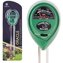 Premium 3-in-1 Soil Tester Meter (Moisture, PH & Light) With Bonus Garden Plant Tags ✶ Suitable For Houseplants...