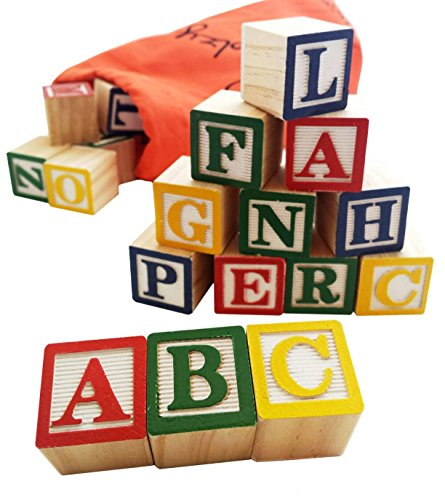 30-Alphabet-Blocks-with-Letters-Colors-by-Skoolzy-Wooden-ABC-Toddler-Preschool-Kindergarten-Building-Toy-Wood-Reading-Stacking-with-Carrying-Tote