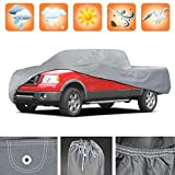 3 Layer Premium Truck Cover Outdoor Tough Waterproof Lining - Compact Pick Up - Regular Cab