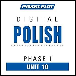 Polish Phase 1, Unit 10 Audiobook