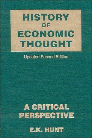 History of Economic Thought: A Critical Prespectve