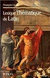 echange, troc François Caron - Lexique thématique de latin