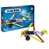 Easy Gift Airplane Metal Models Block Kits Construction Set Educational Toy (108 PCS) by Easy Gift