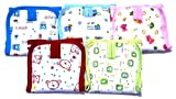 moms pet printed nappy pack of 5