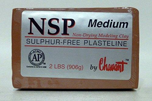 chavant-nsp-medium-2-lbs-professional-oil-based-sulfur-free-sculpting-clay-brown