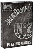 自転車ジャックダニエルは、カードのブラック旧7番を演奏する Bicycle Jack Daniels Playing Cards Black old No.7