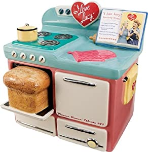 I Love Lucy Kitchen Stove Cookie Jar