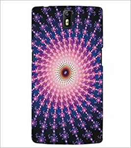 ONE PLUS ONE ILLUSSION Designer Back Cover Case By PRINTSWAG