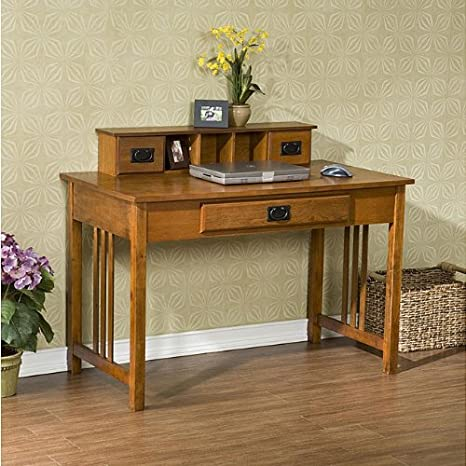 Metro Shop Upton Home Mission Oak Work Desk-furniture