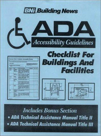 Ada title ii guidelines