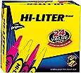 HI-LITER Desk/Pen Style Combo Pack, Assorted, Chisel Tip, Box of 24 (29862)
