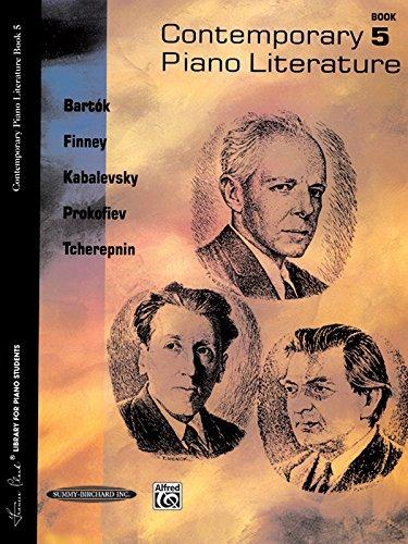 Contemporary Piano Literature, Bk 5 (Frances Clark Library for Piano Students)
