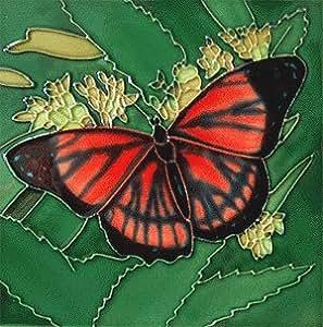 Amazon Viceroy Butterfly Decorative Ceramic Wall Art