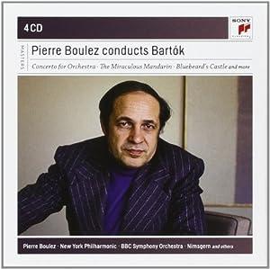 Pierre Boulez conducts Bartòk (Coffret 4 CD)