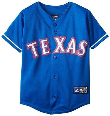 MLB Youth Texas Rangers Royal Alternate Replica Baseball Jersey