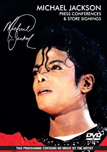 Michael Jackson - Press Conferences and Store Signings