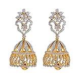 Joyalukkas Sarang Jhumka 18k Yellow Gold Earrings