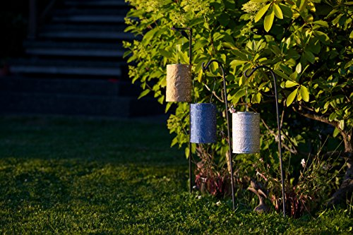 Allsop Home And Garden Soji Stella Solar Lantern Midnight