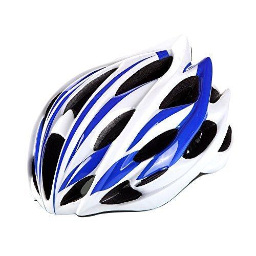 Super-Anti-pressure-ultralight-Adult-Cool-Road-Mountain-Bike-Cyclig-Helmets-bluewhite-A