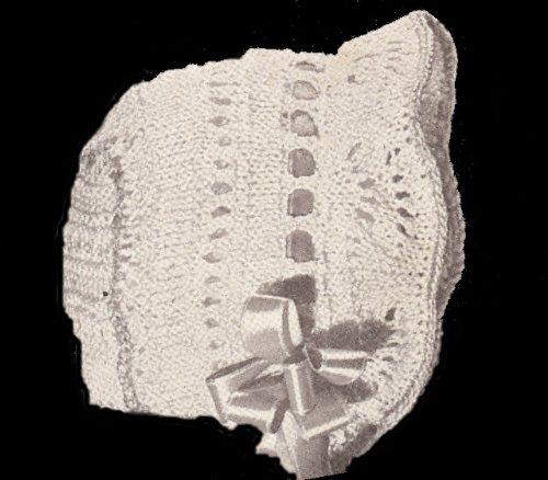 BABY BONNET KNITTING PATTERNS