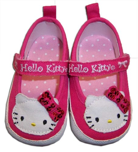 Infant Toddler Pink Hello Kitty Sneaker - 9-12 Months