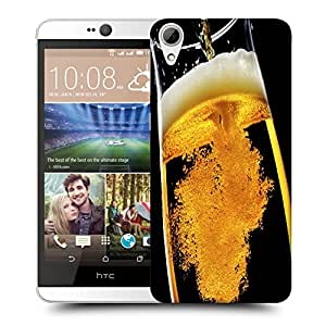 Snoogg Pouring Beer Designer Protective Back Case Cover For HTC DESIRE 826 DUAL SIM